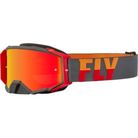 Antiparras FLY Racing Zone PRO Grey/Red