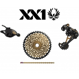 KIT Upgrade SRAM XX1 Eagle Gold 1x12 Trigger