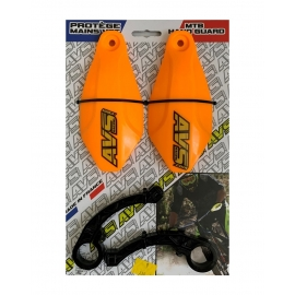 KIT Protector manos Avs Racing Naranjo