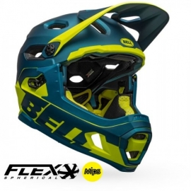 Casco Bell Super Dh Mips - Flex Spherical M/G BLU/HIVZ