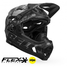 Casco Bell Super Dh Mips - Flex Spherical M/G BLK CAM