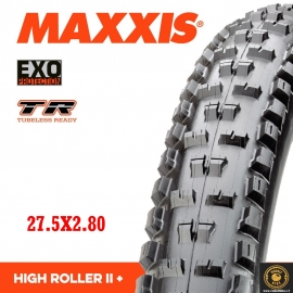 Neumático Maxxis High Roller II PLUS TR/EXO
