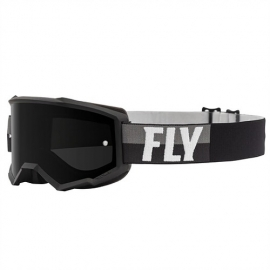 Antiparras FLY Racing ZONE BLACK/WHITE