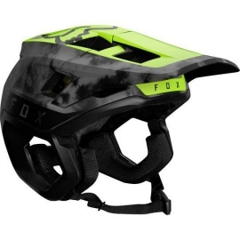 Casco FOX Dropframe Pro Amarillo Fluor