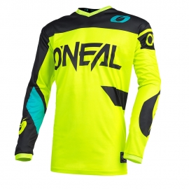 JERSEY ELEMENT RACEWEAR NEON YELLOW/BLACK