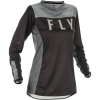 Jersey FLY RACING WOMEN'S LITE BLACK/GREY