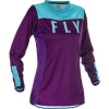 Jersey FLY RACING WOMEN'S LITE PURPLE/BLUE