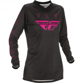 Jersey FLY RACING WOMEN'S F-16 BLACK/PINK