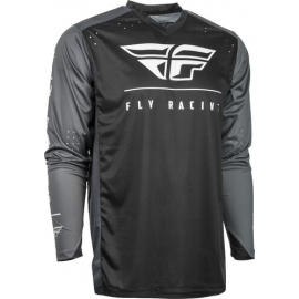 Jersey FLY RACING RADIUM BLACK/GREY/WHITE