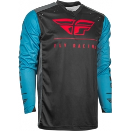 Jersey FLY RACING RADIUM BLUE/BLACK/RED