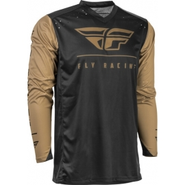 Jersey FLY RACING RADIUM BLACK/KHAKI