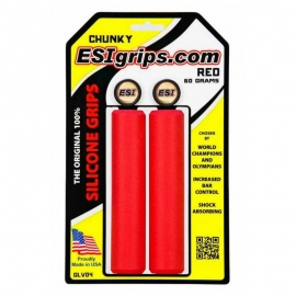 Puños ESIGRIPS CHUNKY RED